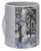 Pike National Forest Snowstorm Coffee Mug