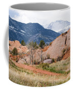 Pikes Peak From Red Rock Canyon Coffee Mug
