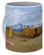 Pikes Peak In The Fall Coffee Mug