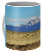 Pikes Peak Painterly Coffee Mug