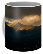 Pikes Peak Sunset Coffee Mug