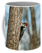 Pileated Billed Woodpecker Pecking 1 Coffee Mug