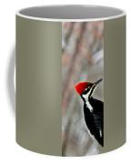 Pileated Woodpecker Up Close Coffee Mug
