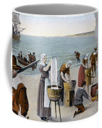 Pilgrims Washing Day, 1620 Coffee Mug