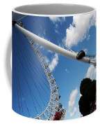 Pillar Of London S Ferris Wheel  Coffee Mug