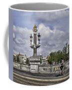 Pillar On The Blue Bridge Coffee Mug