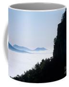 Pilot And Sauertown And Hanging Rock Mountains Coffee Mug