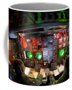 Pilots At The Controls Of A B-52 Coffee Mug by Stocktrek Images