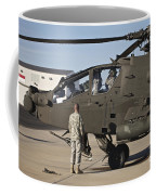 Pilots Prepare For Their Mission In An Coffee Mug