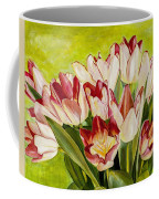 Pink Tulips Coffee Mug
