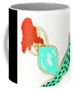 Pin Up Redhead Mermaid Coffee Mug