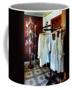 Pinafores And Bonnets In General Store Coffee Mug by Susan Savad