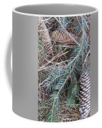 Pine Cone Brush Coffee Mug
