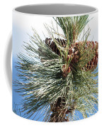 Pine Cones Over Lake Tahoe Coffee Mug