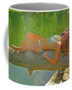 Pine Creek Summer Afternoon Coffee Mug