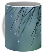 Pine Needle Raindrops Coffee Mug