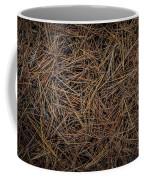 Pine Needles On Forest Floor Coffee Mug