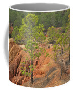 Pine Trees And Forest Coffee Mug