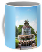 Pineapple Fountain In Charleston South Carolina Coffee Mug