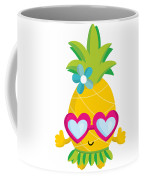 Pineapple Hula Coffee Mug
