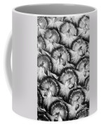 Pineapple Skin - Bw Coffee Mug