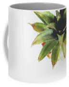 Pineapple Top 2- Art By Linda Woods Coffee Mug