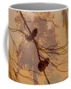 Pinecone Overlay Bright Horizontal Coffee Mug
