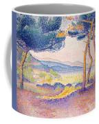 Pines Along The Shore, 1896 Coffee Mug