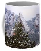 Pines And Flatirons Boulder Colorado Coffee Mug