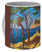 Pines Of The Silver Beach Coffee Mug