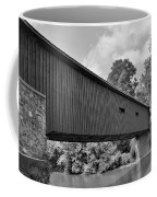 Pinetown Bushong's Covered Bridge Black And White Coffee Mug