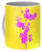 Pink Abstract Tree Coffee Mug
