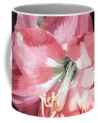 Pink Amaryllis Coffee Mug