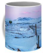 Pink And Blue Sunset Coffee Mug