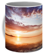 Pink And Gold Morning Zen - Toronto Skyline Impressions Coffee Mug