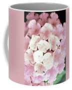 Pink And Green Blossoms Coffee Mug