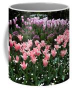 Pink And Mauve Tulips Coffee Mug