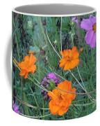 Pink And Orange Merger Coffee Mug