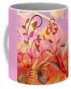 Pink And Purple Flower Medley Coffee Mug