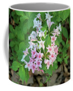 Pink And White Flowers Coffee Mug