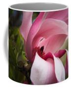 Pink And White Magnolia Coffee Mug