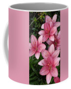 Pink Asiatic Lilies 2 Coffee Mug
