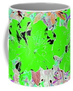 Pink Bevy Of Beauties On A Sunny Day Color Invert Coffee Mug