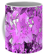 Pink Bevy Of Beauties On A Sunny Day In Violet Coffee Mug
