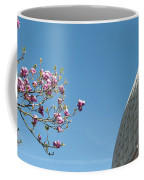 Pink Blossom And Glasshouse Coffee Mug