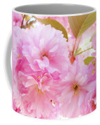 Pink Blossoms Art Prints Canvas Spring Tree Blossoms Baslee Troutman Coffee Mug