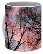 Pink Blue Sky Coffee Mug