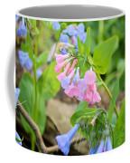 Pink Bluebells Coffee Mug
