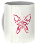Pink Butterfly Coffee Mug