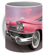 Pink Cadillac Sunset Coffee Mug